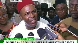 Minister of Science and Technology inaugurates Bio Resource Centre in Bayelsa