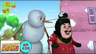 Snow Man - Motu Patlu in Hindi - 3D Animation Cartoon for Kids -As seen on Nickelodeon