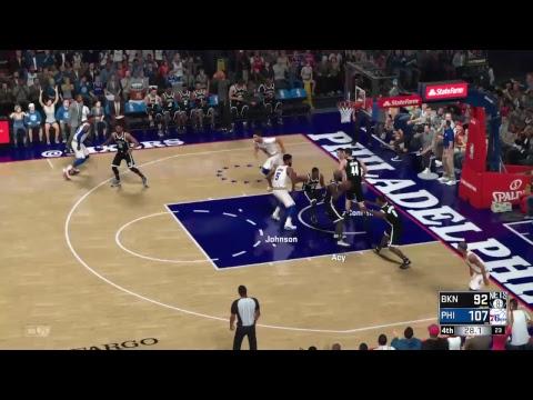 NBA 2K18 (PS4) - Brooklyn Nets vs Philadelphia 76ers