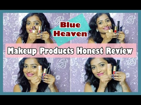 Blue Heaven Makeup Products Honest Review | Affordable Makeup | Indian Mom on Duty