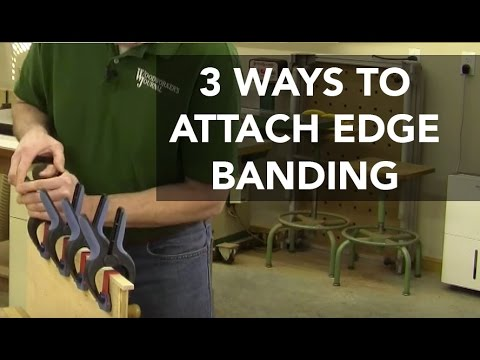 Three Ways to Attach Wood Edging to Plywood