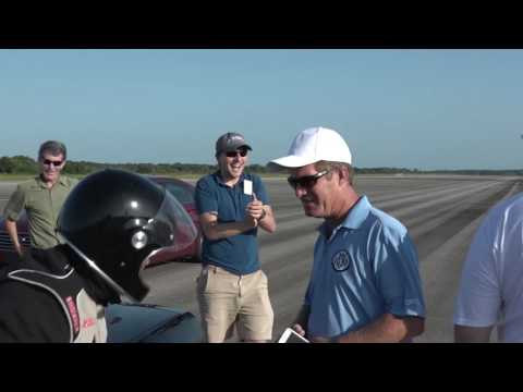 Genovation's All-Electric Vehicle Breaks Speed Record.