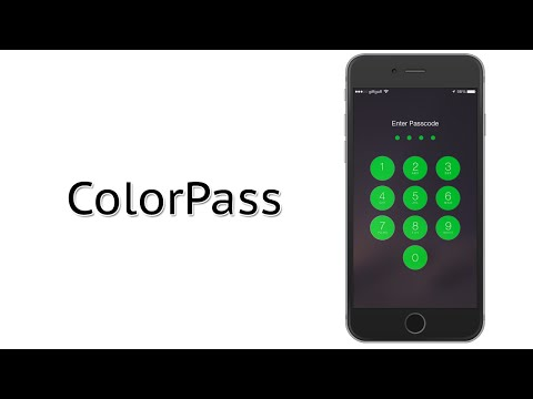 Change the Color of The Passcode Lock Numbers | ColorPass Cydia Tweak Review