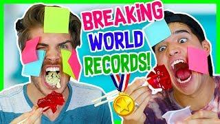BREAKING WORLD RECORDS CHALLENGE! W/ ALEX WASSABI