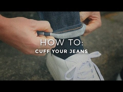 How To Cuff and Pin Roll Your Jeans