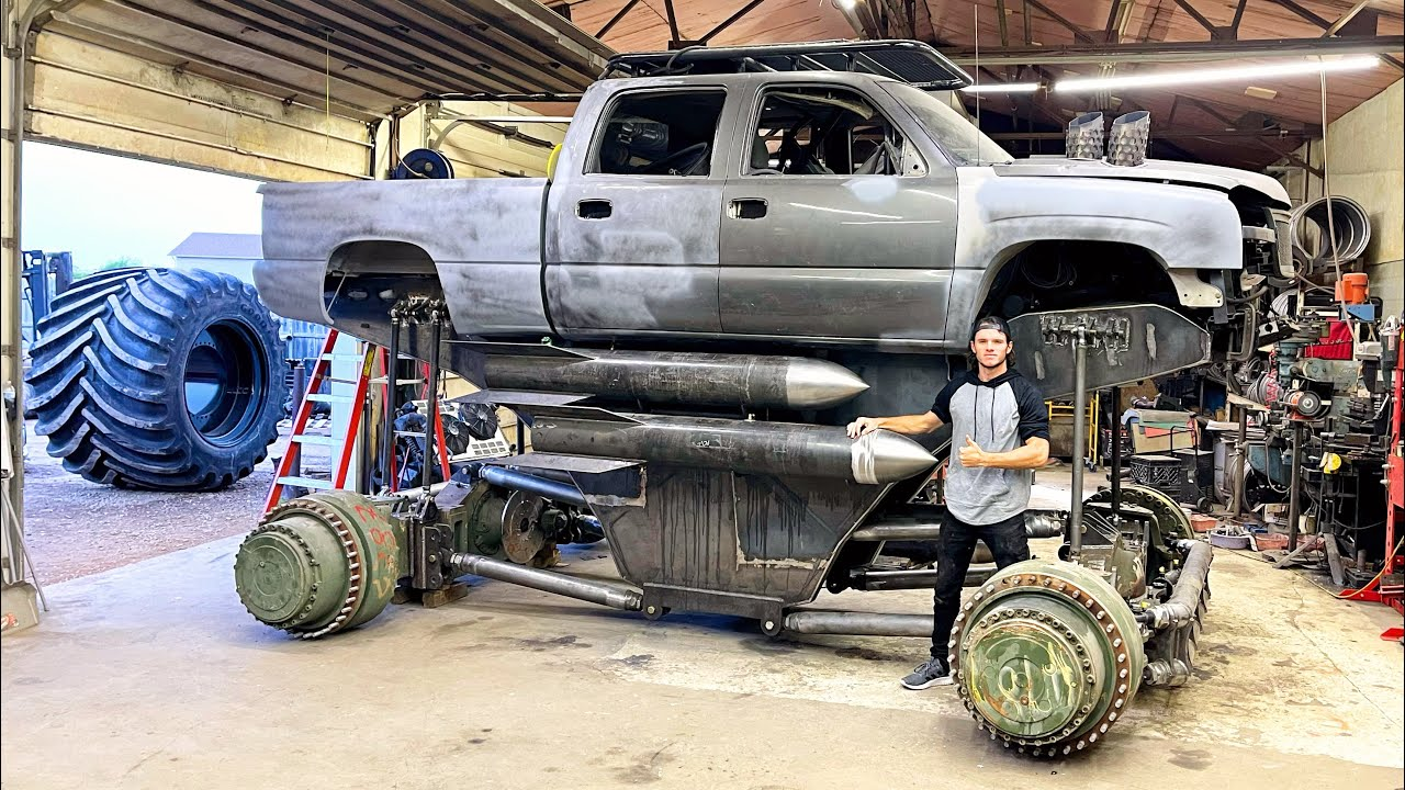 The Twin Duramax Monstermax 2. Yes it has Missiles.