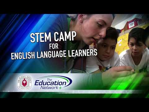 STEM Camp for English Language Learners