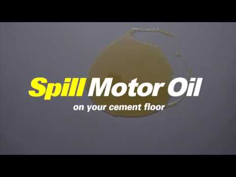 How to Clean Up Liquid Spills in Your Garage - EASY!