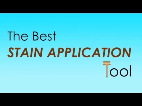 The Best Deck Stain Application Tool