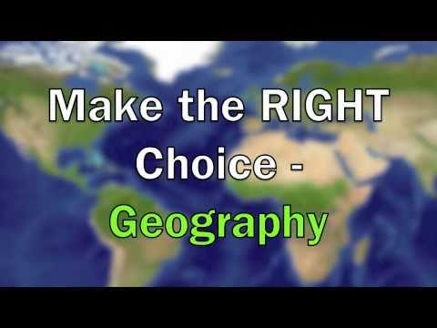 Choose Geography GCSE