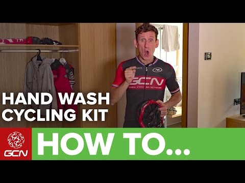 How To Hand Wash Your Cycling Kit