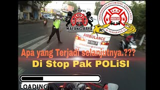 Iea Korwil Surabaya Di Jalur Malang #4 [escort Ambulance  Diberhentikan Pak Polisi] Hati Hati