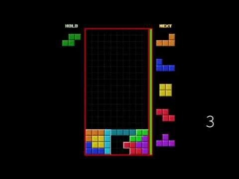 Tetris - DOUBLE Perfect Clear - 3 Examples