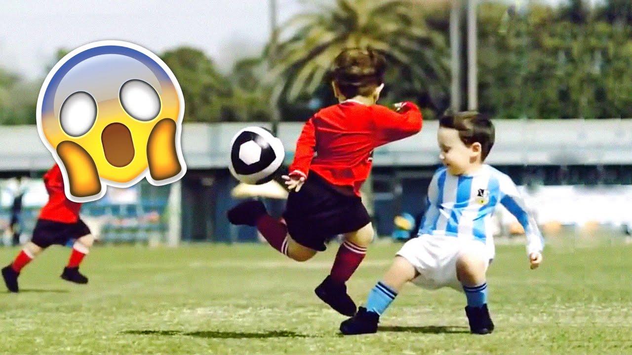 KIDS IN FOOTBALL - FAILS, SKILLS & GOALS #2