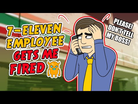 7-Eleven Employee Gets Me FIRED!