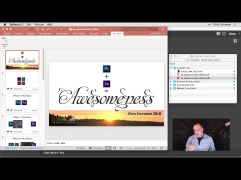Acrobat DC Tips & Tricks with Chris Converse: From PDF to Office and Back, From Anywhere (Episode 9)