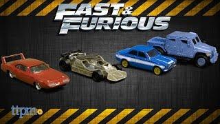 Fast & Furious Ford Escort RS1600 MK1, Dodge Charger Daytona, Navistar MXT & Flip Car from Mattel