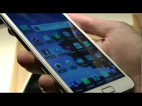 Samsung Galaxy Note STRANGE Color Screen Issue! Sammy Need GALAXY S3 ASAP!!