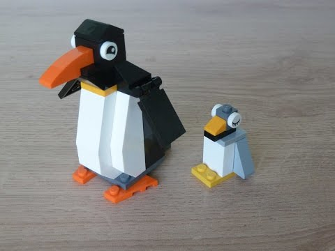 LEGO CLASSIC 10695 How to build a Penguin
