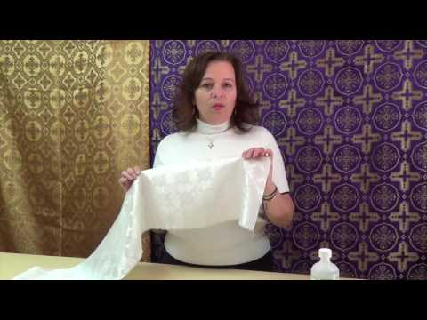 How to Remove Candle Wax Stains from Fabric / Orthodox Vestments and Cassocks by Vesna Vestments