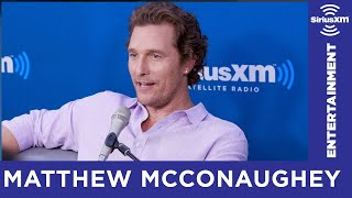 How Matthew McConaughey Reacted To His First Magazine Cover