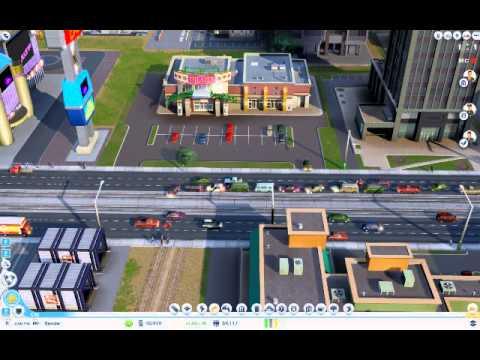 Simcity traffic trick