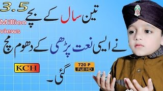 Beautiful Naat Sharif  In Panjabi ||  Sweet Voice Of Talha Qadri
