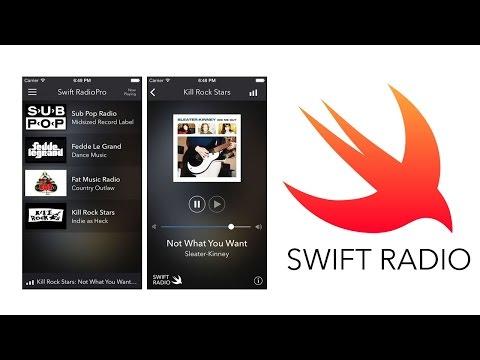 Swift Radio Pro (iOS App) - Open Source Template/Code