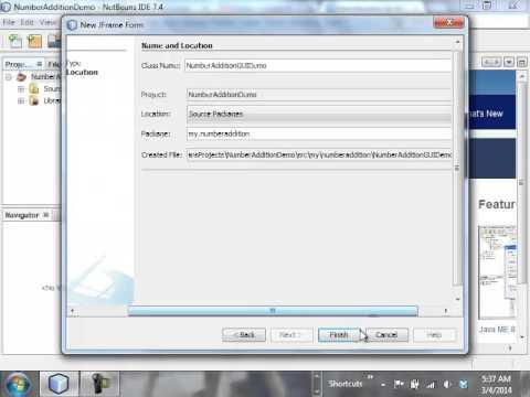 CIS2087: Unit 8 - NetBeans GUI Tutorial, Part 1