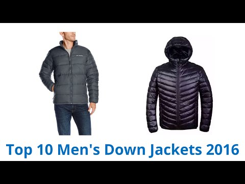 10 Best Men's Down Jackets 2016