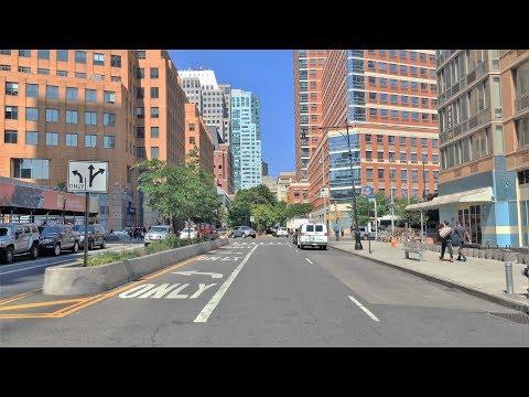 Driving Downtown - Brooklyn Avenue 4K - New York USA