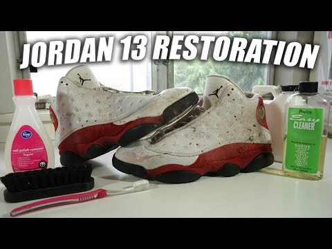 Jordan Cherry 13 Full Restoration | A Quick Thrift Fix!