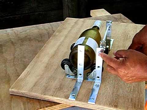 Glass bottle cutter - video 1