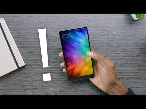 The Bezel-less Smartphone: Xiaomi Mi Mix!