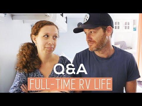 Full-time RV living Q&A
