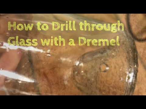 Easily Dremel Glass