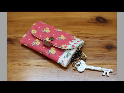 Shine Sewing Tutorial Key Chain Bag Holder Tutorial