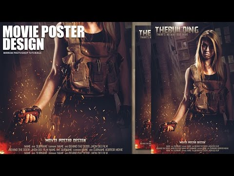 Creating a Movie Poster Manipulation In Phtoshop - The Building