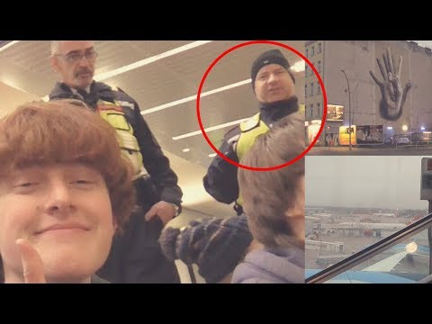 Getting kicked out by security! (Berlin vlog)
