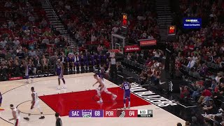 3rd Quarter, One Box Video: Portland Trail Blazers vs. Sacramento Kings