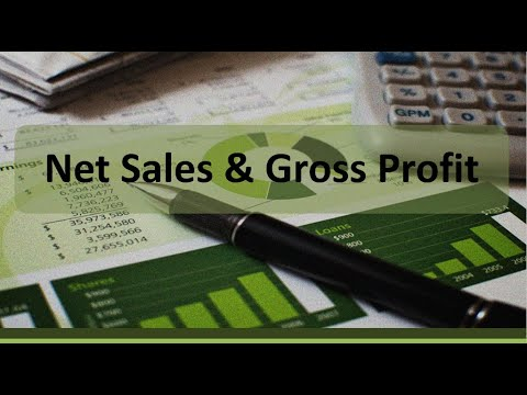 Financial Accounting: Net Sales and Gross Profit