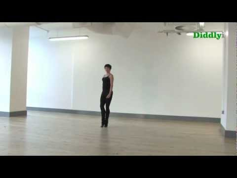 1st Step of Irish Dancing Reel from Diddlyi.com with Ciara Sexton