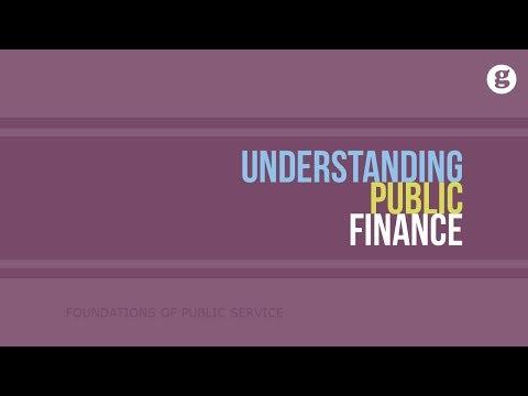 Understanding Public Finance