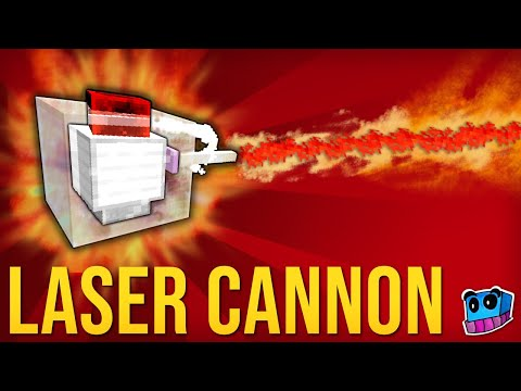 Minecraft: How to get Laser Cannons! (One Command) NO Mod!
