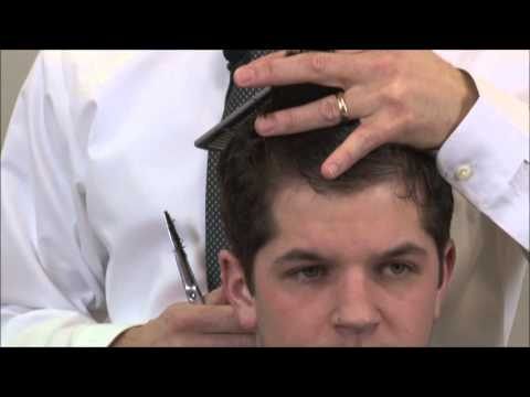 How To  A Cut The Top Of The Pompadour Hairstyle