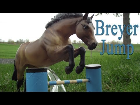 How To Make A Breyer Horse Jump And Trot Poles