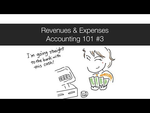 Revenues & Expenses - Accounting 101 #3