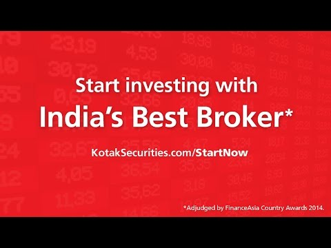 Start Online Stock Trading at Kotak Securities - India's Best Broker