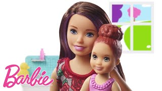 Barbie Opiekunka | Skipper Klub Opiekunek | NowoŚĆ! Kąpiel Z Bąbelkami