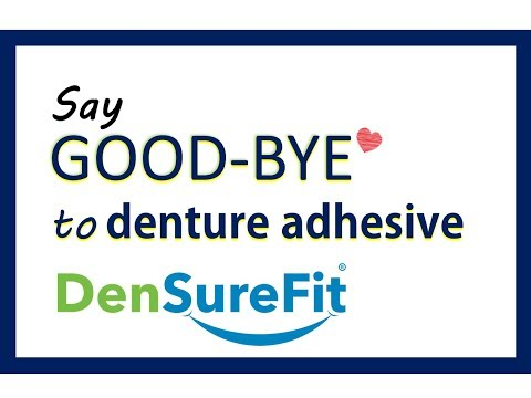 DenSureFit OVERVIEW - Soft Supple Silicone Denture Reliner